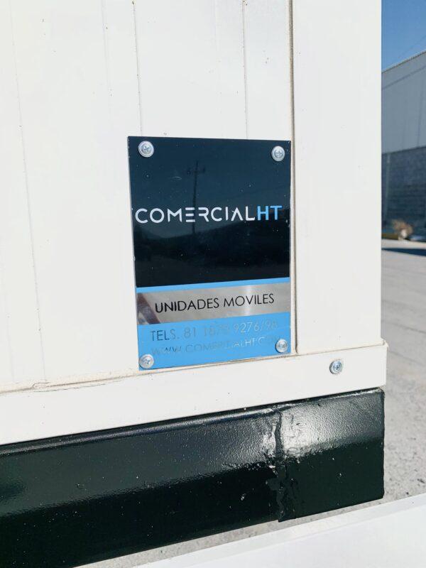 BAÑOS RODANTES 8.5X24 REMOLQUE COMERCIAL HT